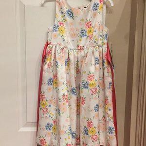NWT Adorable floral fancy dress size 5